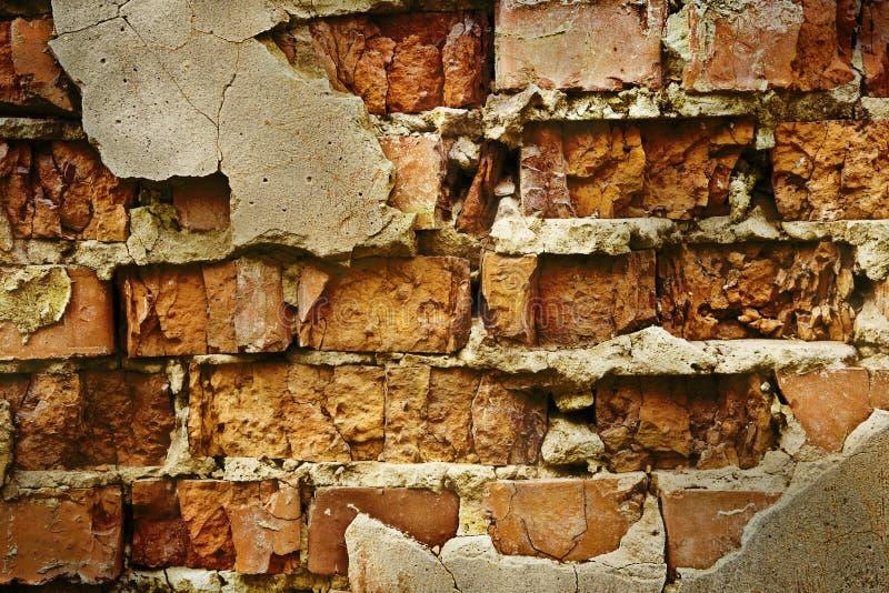 Download Gammal vägg för tegelsten fotografering för bildbyråer. Bild av textur - 3533093