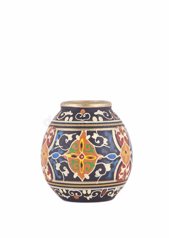 Gammal Vase royaltyfri fotografi