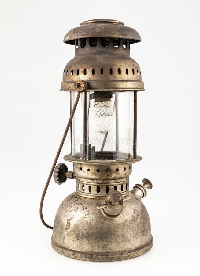 Gammal vintage lantern royaltyfria bilder