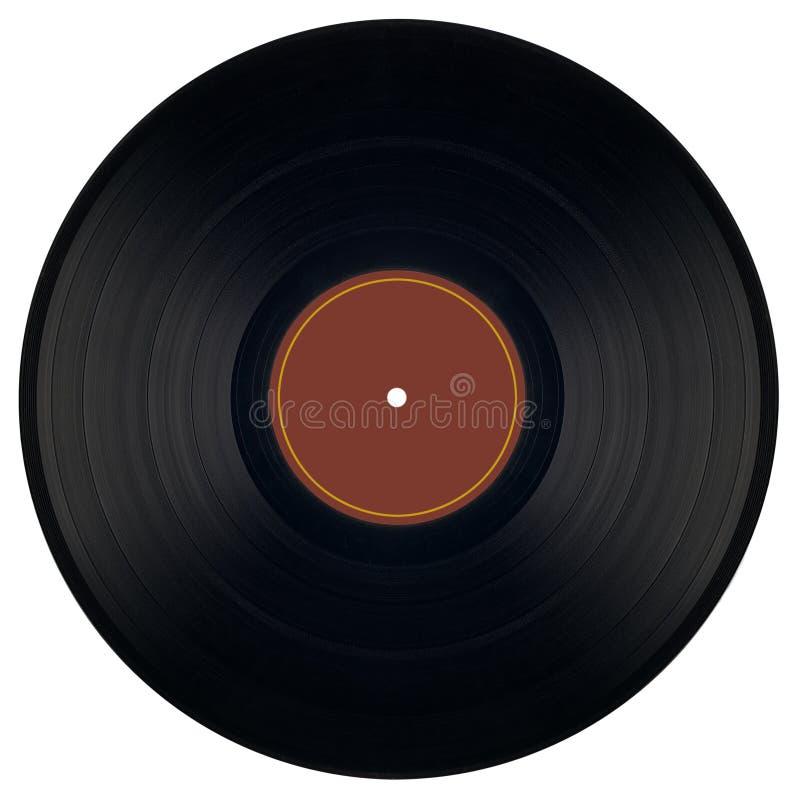 gammal vinyl för musik fotografering för bildbyråer