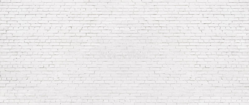 Gammal vit bakgrund f?r tegelstenv?gg, tappningtextur av ljust murverk arkivfoto