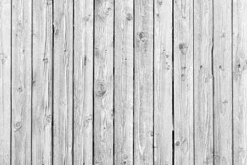 Gammal vit riden ut wood textur royaltyfri bild