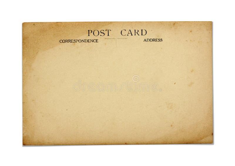 gammal vykort royaltyfria bilder