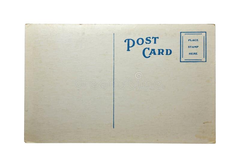 Gammal vykortCarte Postale arkivbild