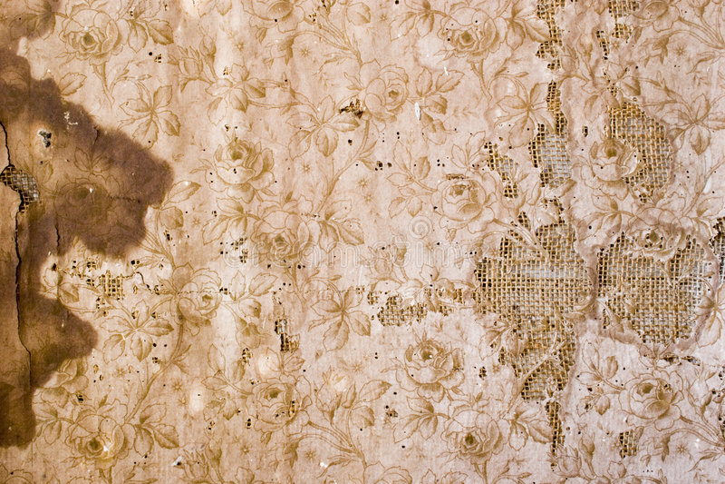 gammal wallpaper 03 royaltyfri fotografi