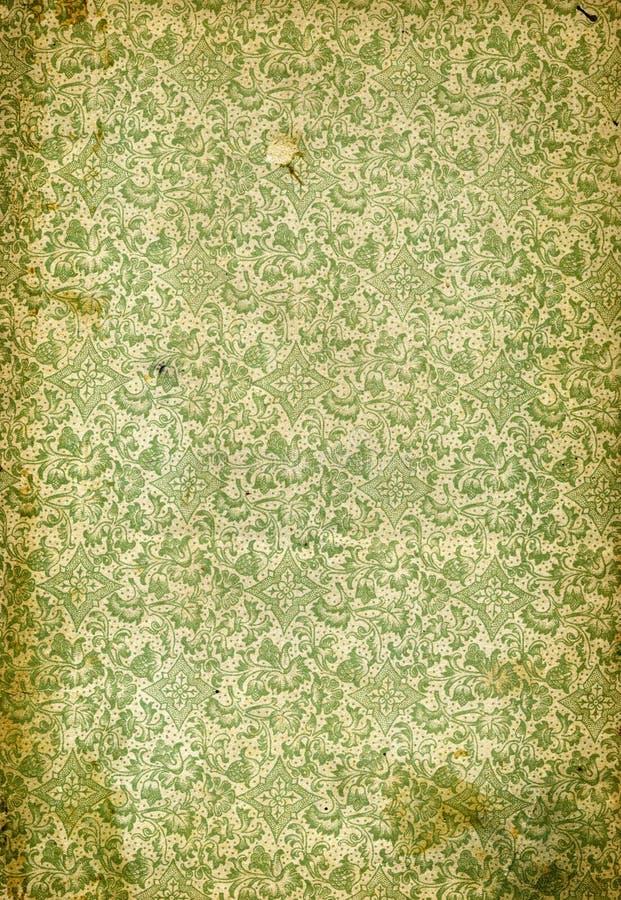 Gammal wallpaperbakgrund royaltyfria foton