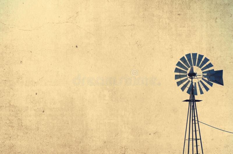 gammal windmill royaltyfri fotografi