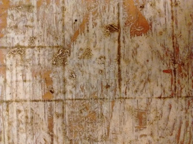 Gammal wood makro arkivbild