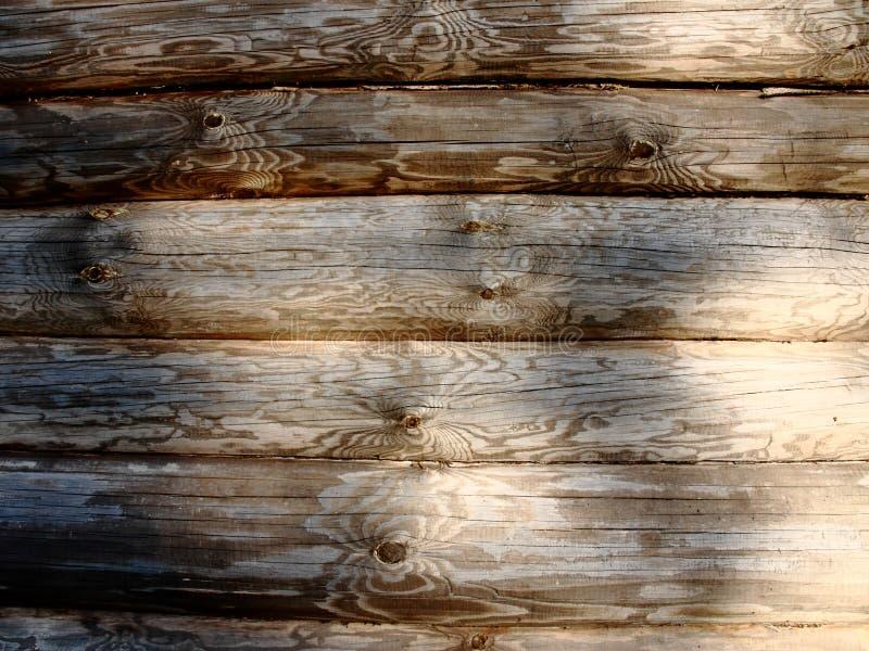 Gammal Wood texturplankabakgrund - träskrivbordtabellvägg eller golv fotografering för bildbyråer