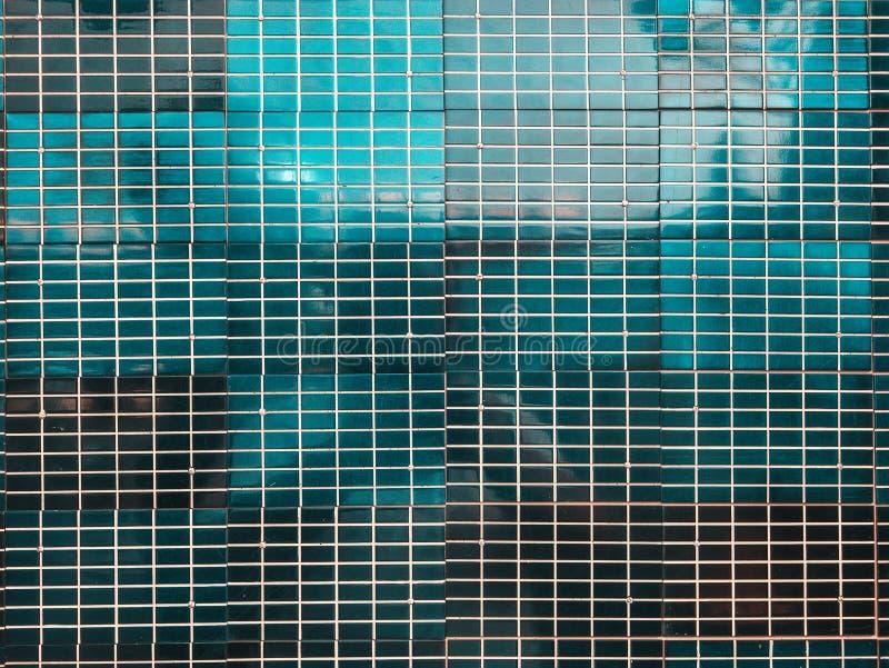 Gammal yttersidatextur för sol- cell, geometrisk bakgrund för blå abstrakt teknologi royaltyfri bild