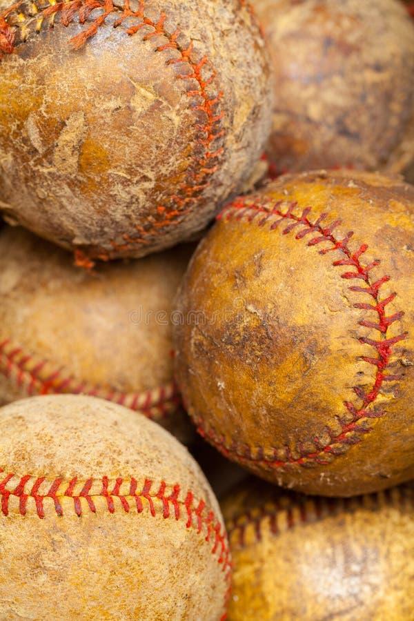 gammala baseball arkivfoto