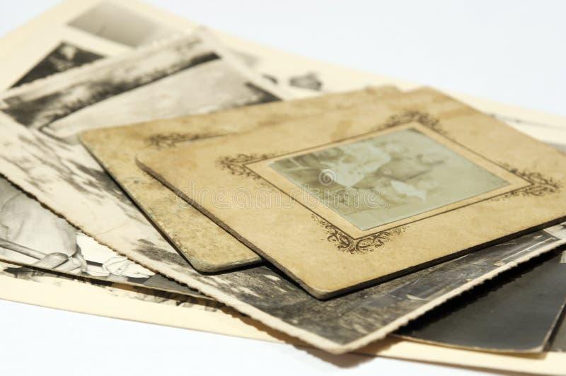gammala fotografier royaltyfria bilder