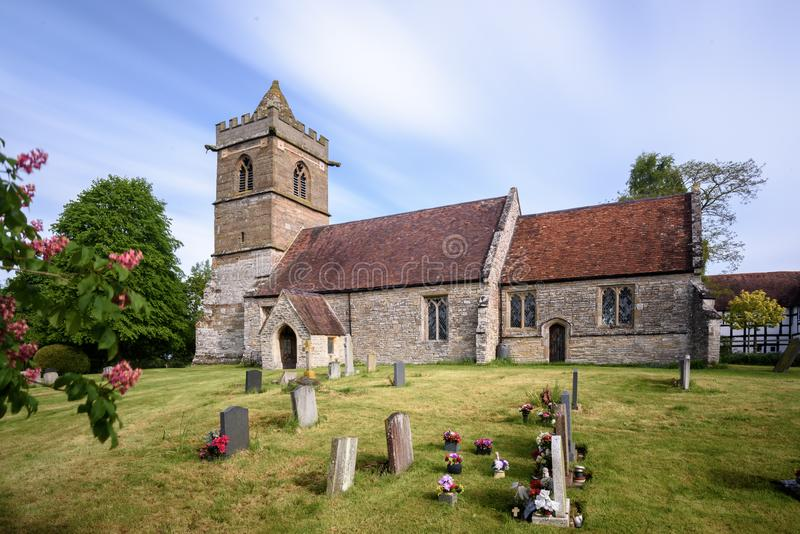 gammala kyrkliga england royaltyfri foto