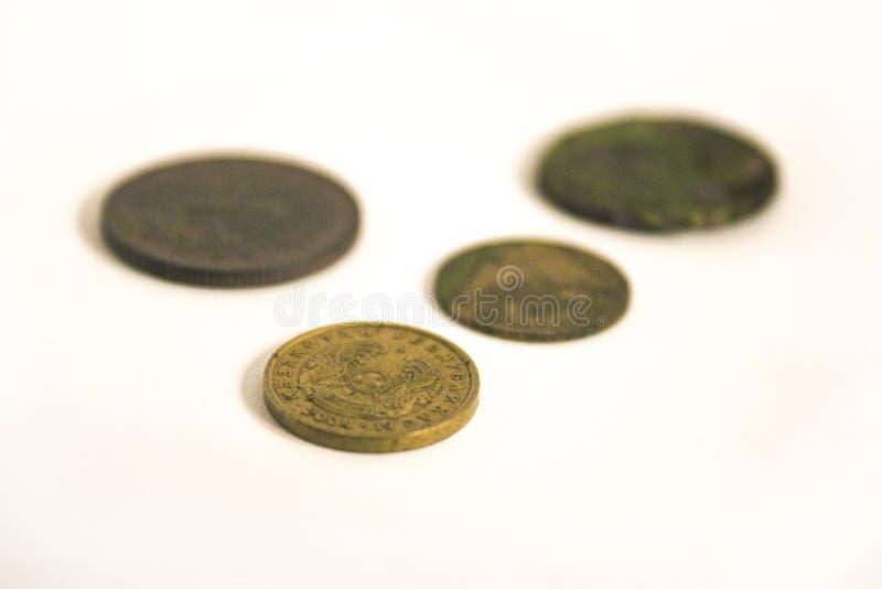 gammala pengar arkivfoton