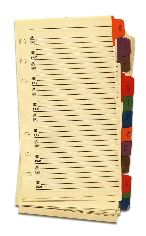 gammala sidor s för anteckningsbok fotografering för bildbyråer