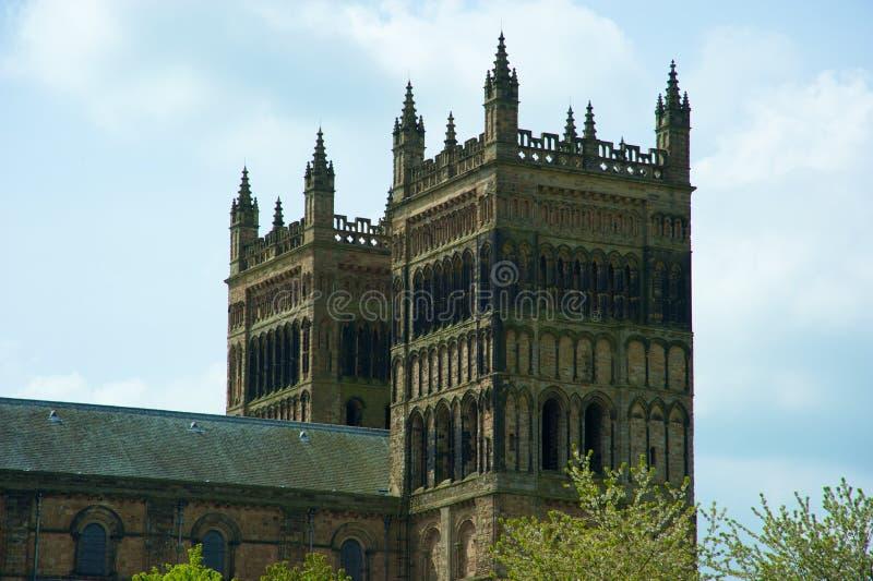 gammala torn för domkyrka arkivbild