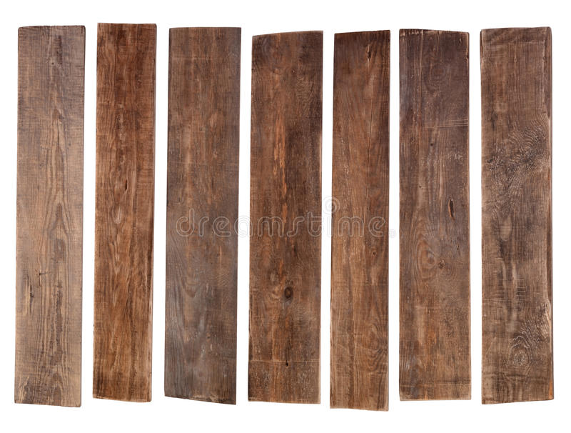 Gammala träplankor royaltyfria bilder
