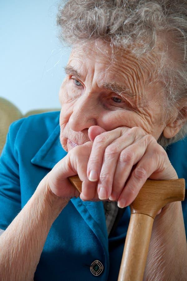 gammalare kvinna arkivbilder