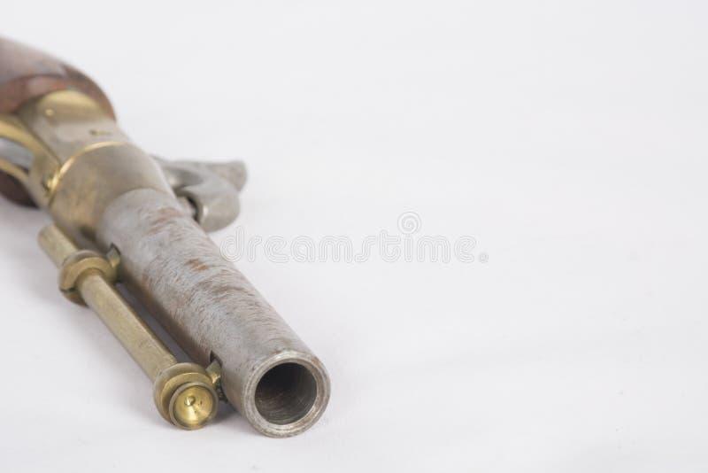 Gammalmodig pistol för svart pulver royaltyfria foton