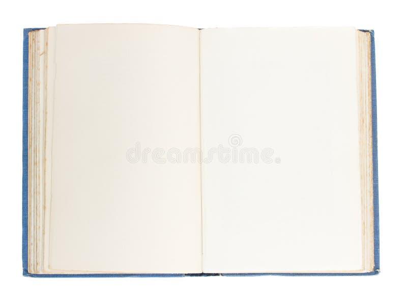Gammalt öppna boken royaltyfria foton