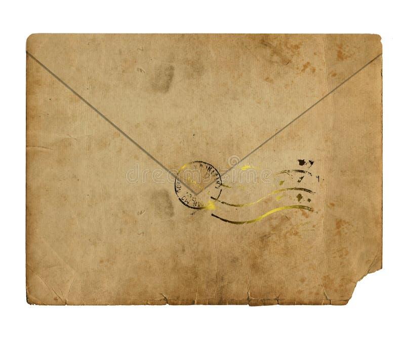 gammalt alienerat kuvert vektor illustrationer