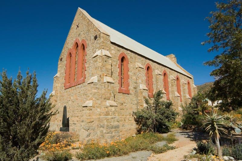 Gammalt all anglikansk kyrka för helgon i springbock royaltyfri fotografi