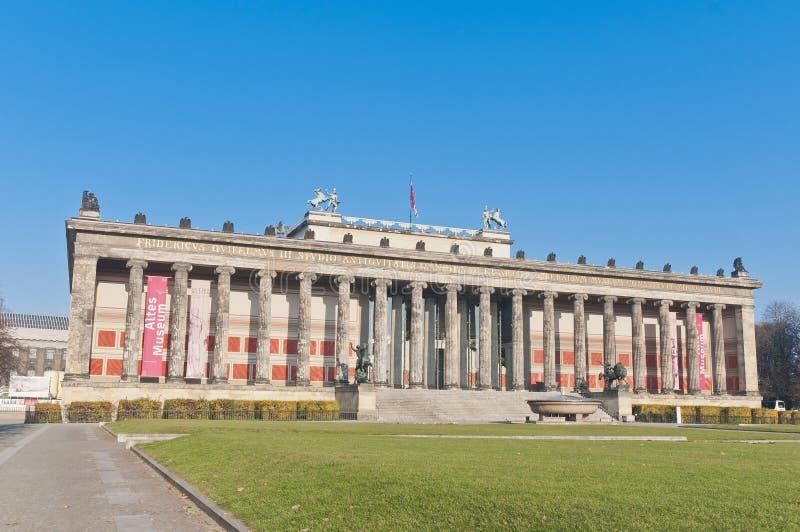 gammalt altesberlin germany museum arkivbild