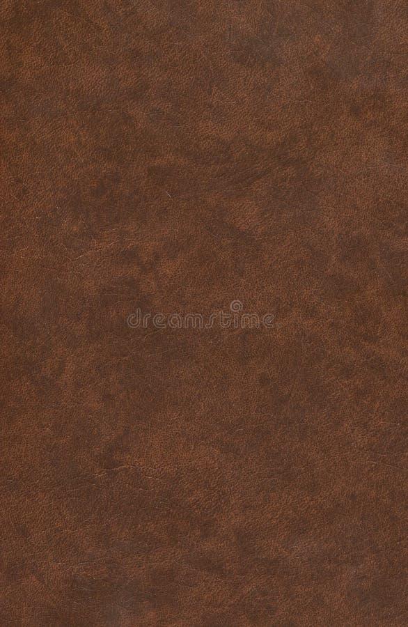 Gammalt brunt läderbokomslag abstrakt bakgrund royaltyfri bild