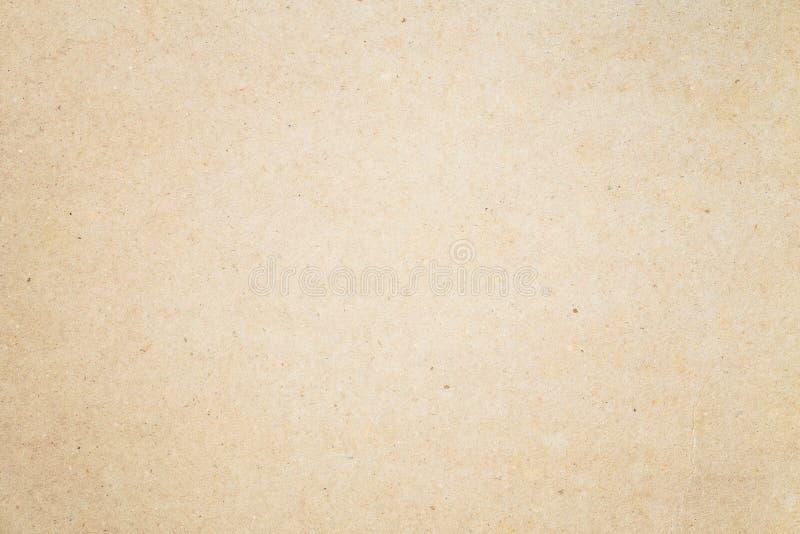 Gammalt brunt papper för bakgrunden, abstrakt textur av papper för fotografering för bildbyråer