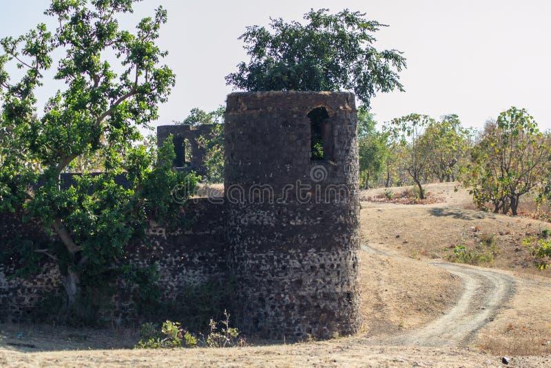 Gammalt fort Baston Indore royaltyfria foton