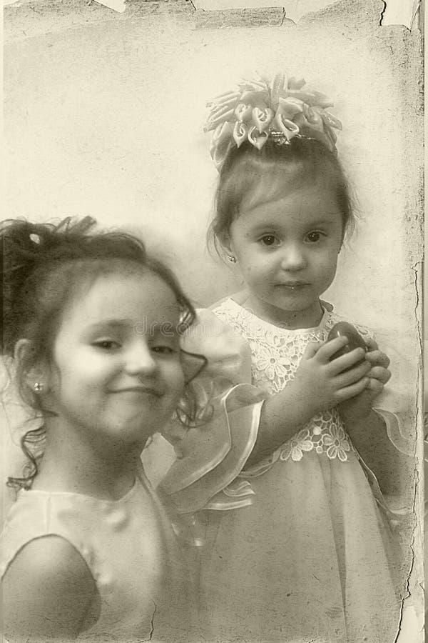 Download Gammalt foto arkivfoto. Bild av hår, flicka, barn, framsida - 502894