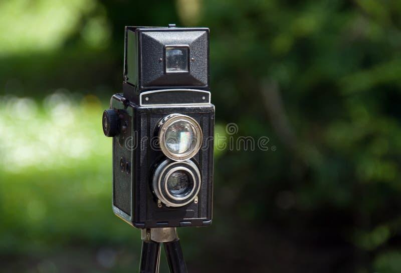gammalt foto för kamera arkivfoton