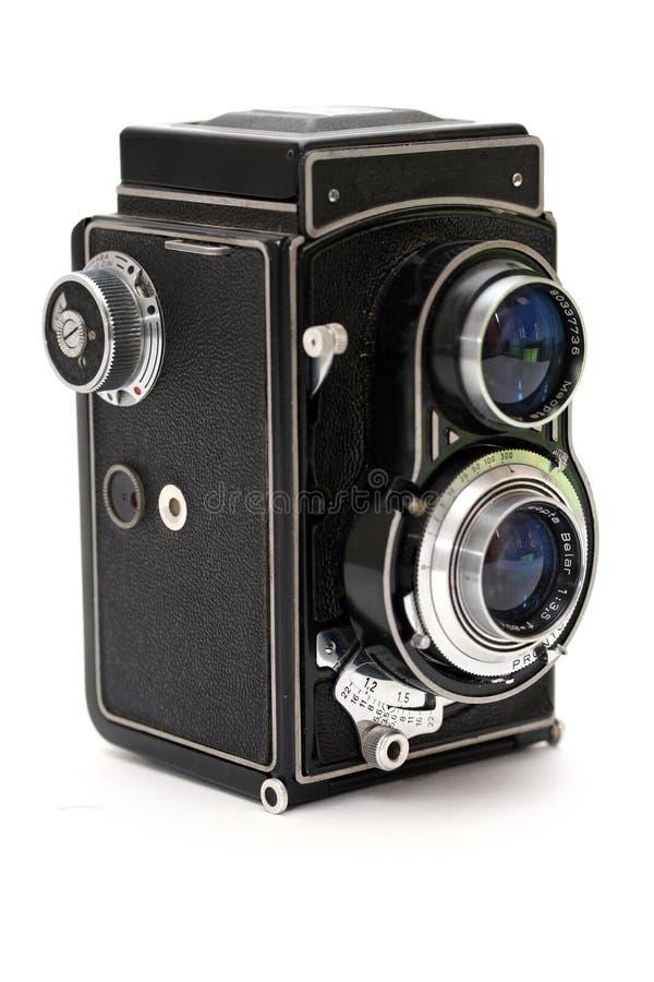 gammalt foto för kamera royaltyfria bilder