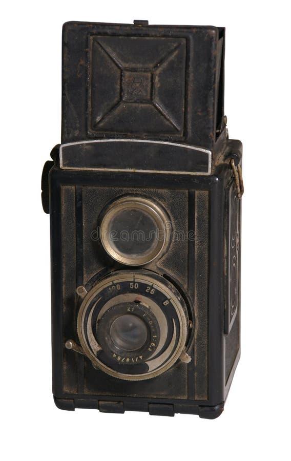gammalt foto för kamera royaltyfri fotografi