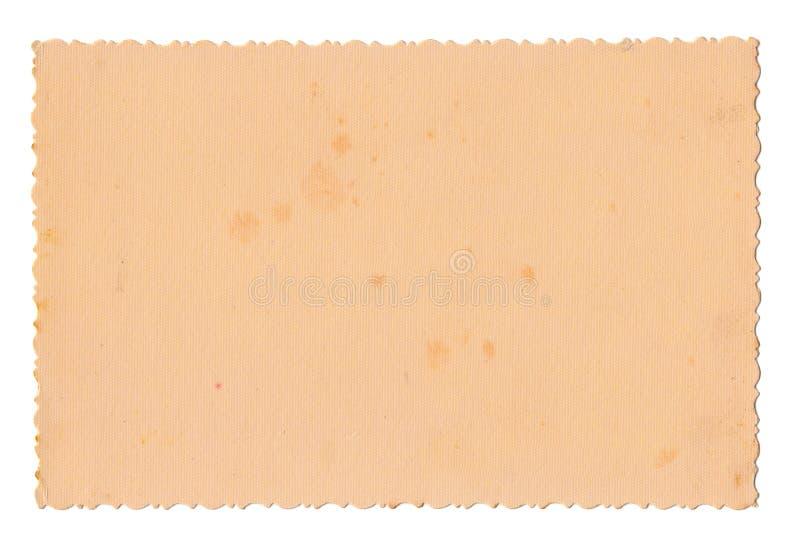 Gammalt fotopapper arkivbild