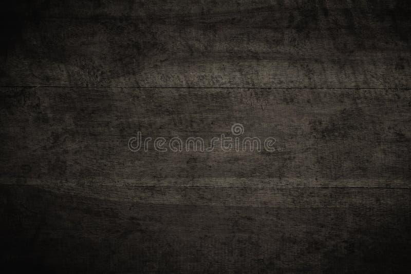 Gammalt grungemörker texturerade träbakgrund, yttersidan av olen arkivfoto