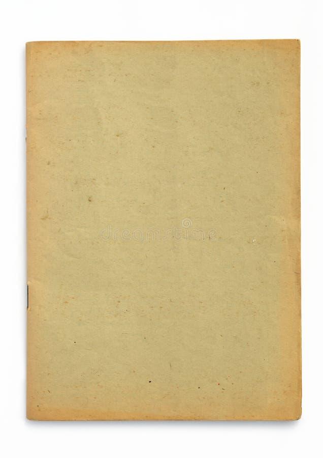 Gammalt gult häfte arkivbilder