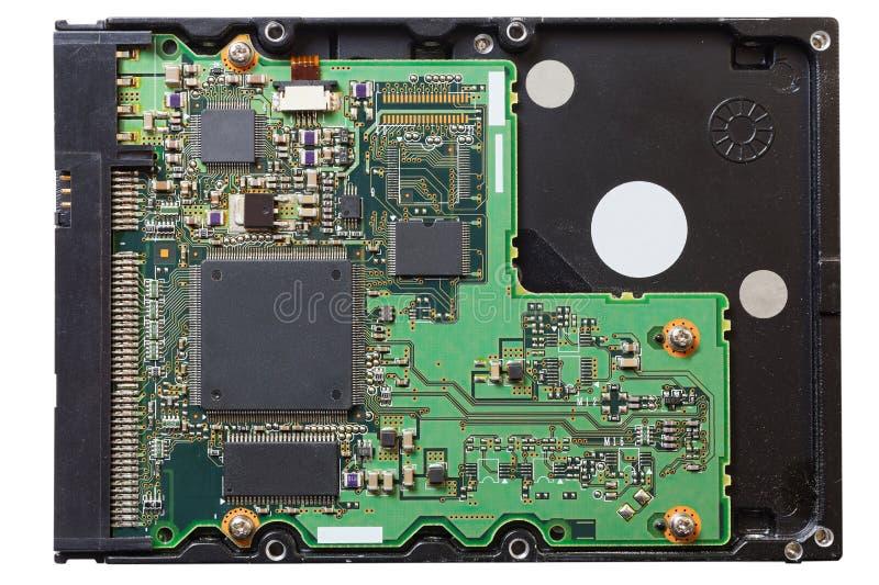 Gammalt HDD-hårddiskdrev arkivbilder
