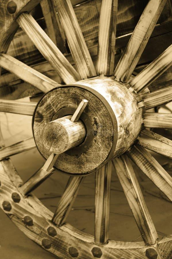 gammalt hjul royaltyfri fotografi