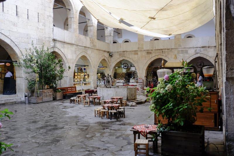 Gammalt hotell i Safranbolu fotografering för bildbyråer