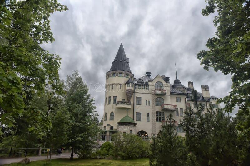 Download Gammalt Hotell Valtionhotelli Arkivfoto - Bild av lägen, finska: 76701376