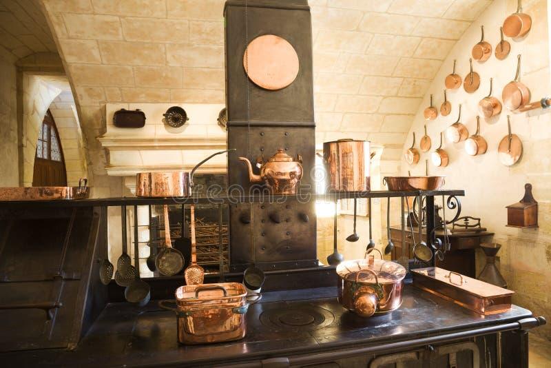 gammalt kök mycket arkivbilder