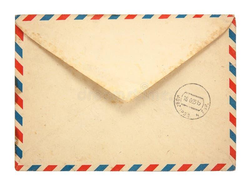 Gammalt kuvert arkivbild