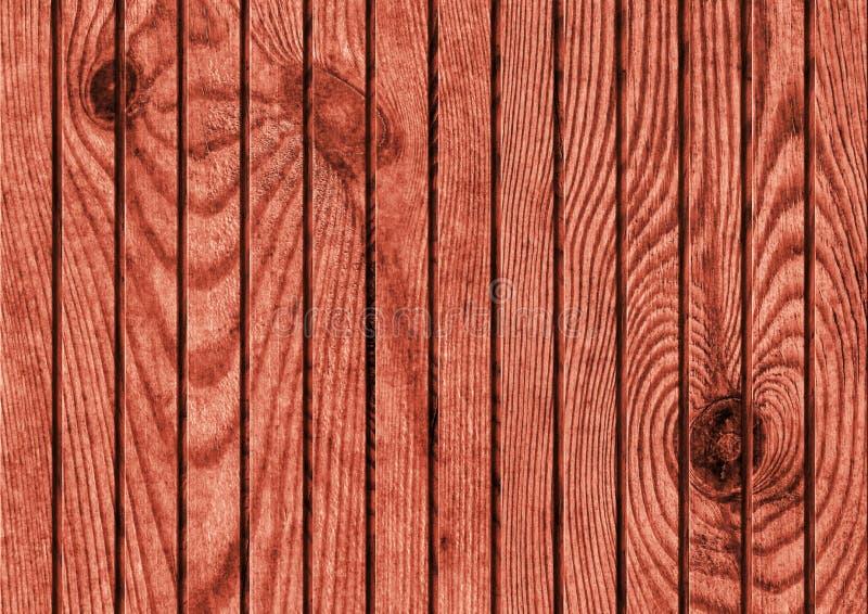 Gammalt lantligt rödbrunt rött sörjer textur för trädurkGrunge arkivfoto