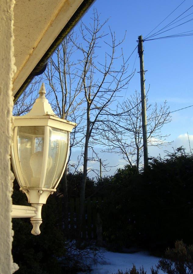 Gammalt ljus, den nya dagen, gryning har brutet royaltyfri bild