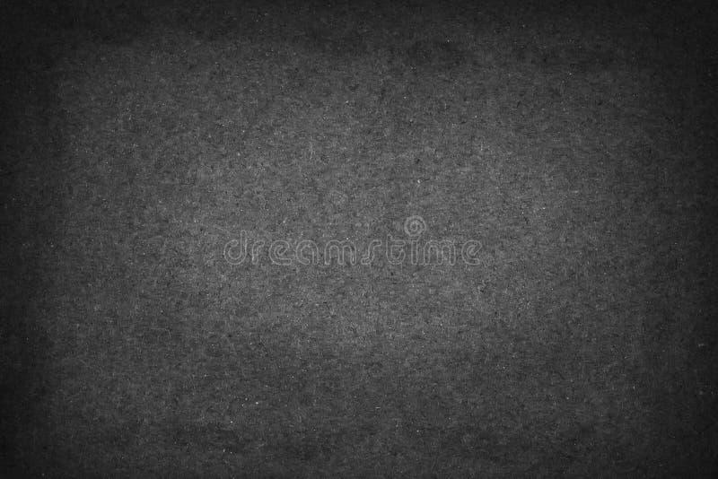 Gammalt mörker - grått papper för bakgrund, texturpapper för design eller tillfogar textmeddelandet royaltyfri foto