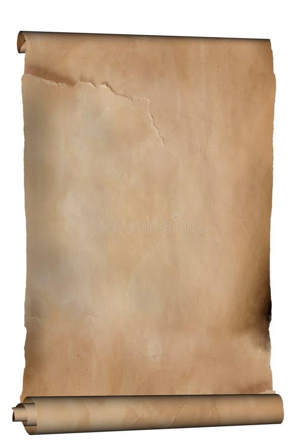 gammalt manuskript royaltyfri fotografi