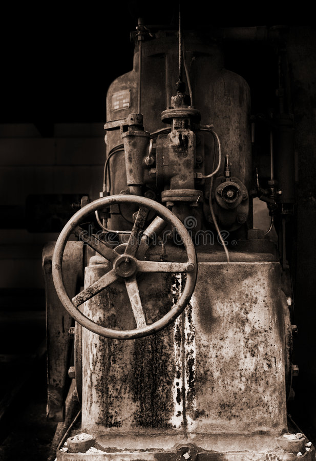 gammalt maskineri arkivfoton
