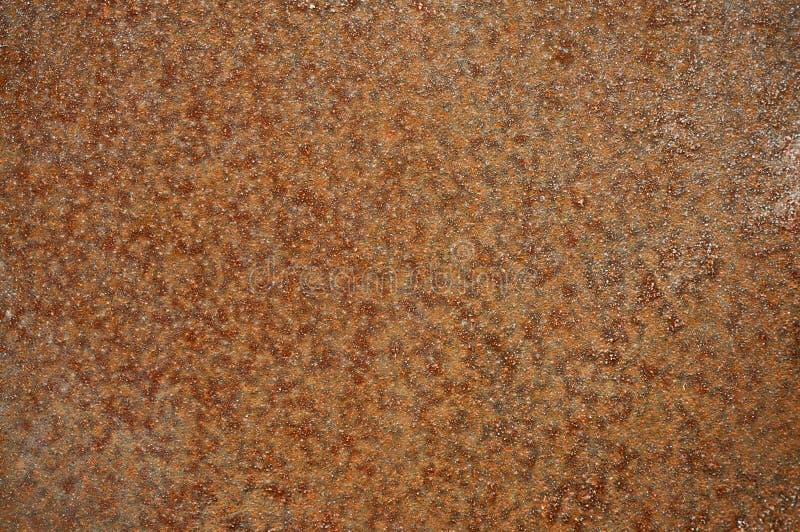 Gammalt metallark av järn med rostabstrakt begreppbakgrund arkivfoton