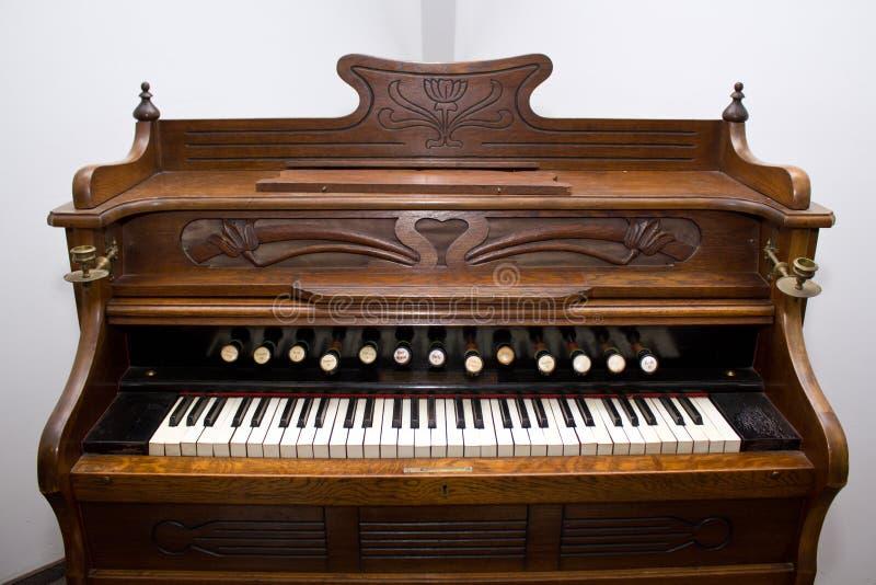 gammalt organ royaltyfri bild